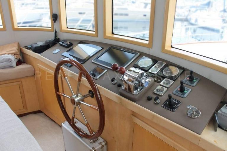 Özel Üretim Trawler 23M Türkiye'de – 2004